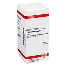 Lithium carbonicum D 3 Tabletten