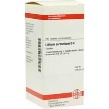 Produktbild Lithium carbonicum D 4 Tabletten