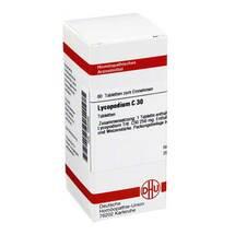 Produktbild Lycopodium C 30 Tabletten