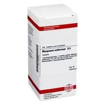 Produktbild Manganum sulfuricum D 6 Tabletten