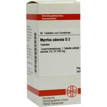 Produktbild Myrrhis odorata D 2 Tabletten