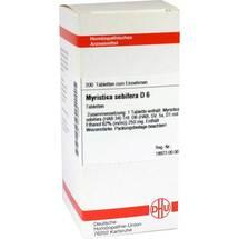 Produktbild Myristica sebifera D 6 Tabletten