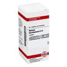 Produktbild Natrium bicarbonicum D 12 Tabletten