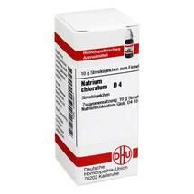 Produktbild Natrium chloratum D 4 Globuli