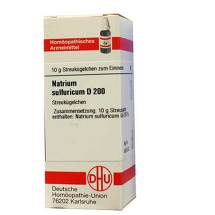 Natrium sulfuricum D 200 Globuli