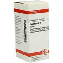 Produktbild Nicotinum D 10 Tabletten