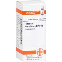 Produktbild Platinum metallicum C 1000 Globuli