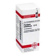 Produktbild Plumbum metallicum D 12 Globuli