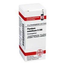 Plumbum metallicum D 200 Globuli