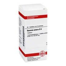 Produktbild Quassia D 6 Tabletten