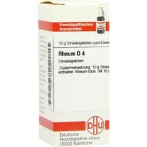 Produktbild Rheum D 4 Globuli
