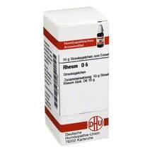 Produktbild Rheum D 6 Globuli