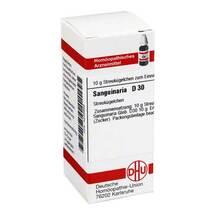 Produktbild Sanguinaria D 30 Globuli