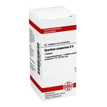 Produktbild Spartium Scoparium D 6 Tabletten