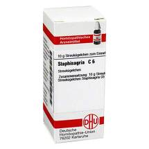 Staphisagria C 6 Globuli