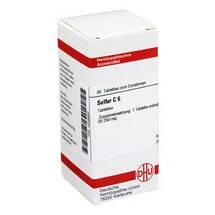 Produktbild Sulfur C 6 Tabletten