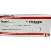 Produktbild Symphytum D 6 Ampullen