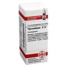 Produktbild Thyreoidinum D 12 Globuli