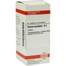 Zincum cyanatum D 4 Tabletten