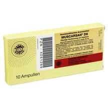 Produktbild Muscarsan D 6 Ampullen