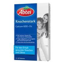 Abtei Knochenstark Calcium 600 + D3 Tabletten