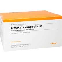 Produktbild Glyoxal compositum Ampullen