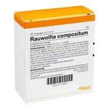 Produktbild Rauwolfia Compositum Ampullen
