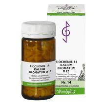 Biochemie 14 Kalium bromatum D 12 Tabletten