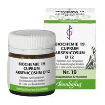 Produktbild Biochemie 19 Cuprum arsenicosum D 12 Tabletten