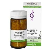 Produktbild Biochemie 21 Zincum chloratum D 6 Tabletten
