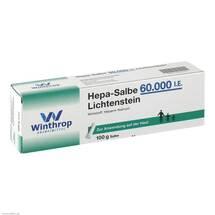 Produktbild Hepa Salbe 60.000 I.E. Lichtenstein