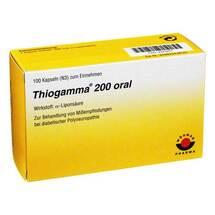 Produktbild Thiogamma 200 oral Weichkapseln
