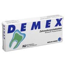 Produktbild Demex Zahnschmerztabletten