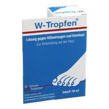 W-Tropfen Lösung gegen Hühneraugen + Hornhaut