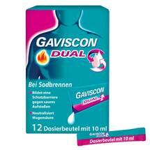 Gaviscon Dual 500mg / 213mg / 325mg Suspension im Beutel