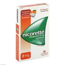 Produktbild Nicorette 2 mg freshfruit Kaugummi