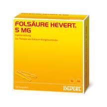 Produktbild Folsäure Hevert 5 mg Ampullen