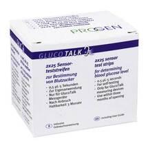 Produktbild Gluco Talk BZ-Streifen Tests