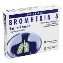 Produktbild Bromhexin 8 Berlin Chemie überzogene Tabletten