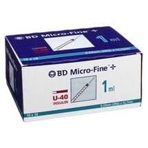 Produktbild BD Micro-Fine + U 40 Ins.Spr. 12,7 mm