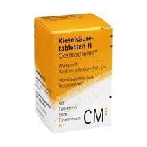 Produktbild Kieselsäure N Cosmochema Tabletten