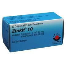Produktbild Zinkit 10 überzogene Tabletten