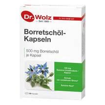Produktbild Borretschöl Kapseln Dr. Wolz