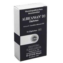 Produktbild Albicansan D 3 Suppositorien