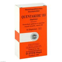 Produktbild Quentakehl D 3 Suppositorien