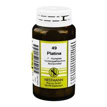 Produktbild Platina F Komplex Nr. 49 Tabletten