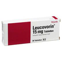 Produktbild Leucovorin 15 mg Tabletten