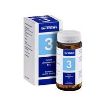 Produktbild Biochemie Orthim 3 Ferrum phosphoricum D 12 Tabletten