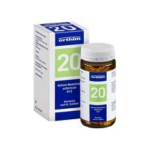 Biochemie Orthim 20 Kalium alumin.sulfuricum D 12 Tabletten