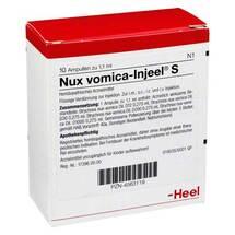 Produktbild Nux vomica Injeel S Ampullen